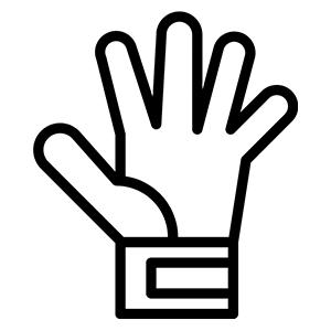 Football Ausrüstung Handschuh