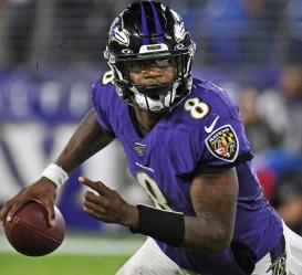 Lamar Jackson, Quarterback Baltimore Ravens