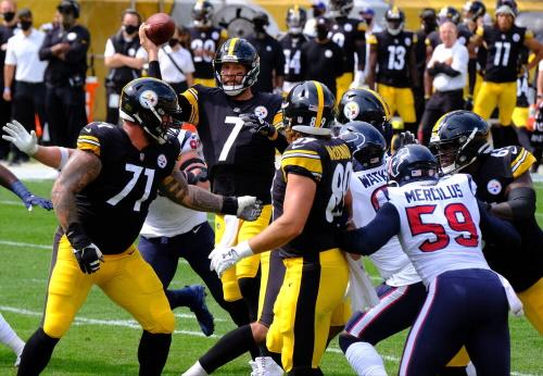 Ben Roethlisberger #7, Pittsburgh Steelers