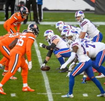 Josh Allen und die Bills Offense