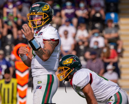 Dragons Quarterback Zach Edwards