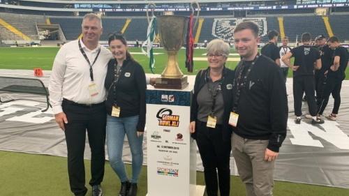 CFL Commissioner Randie Ambrosie beim German Bowl 2019